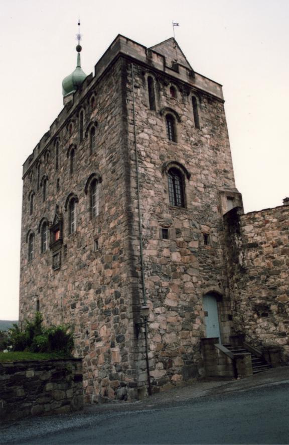 Bergen, la tour de sa seigneurie