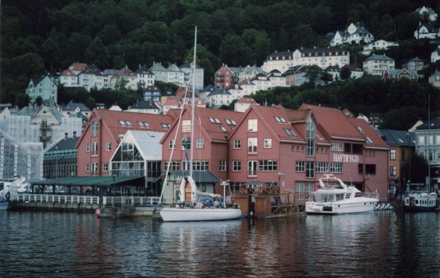 Bergen, le marché aux poissons