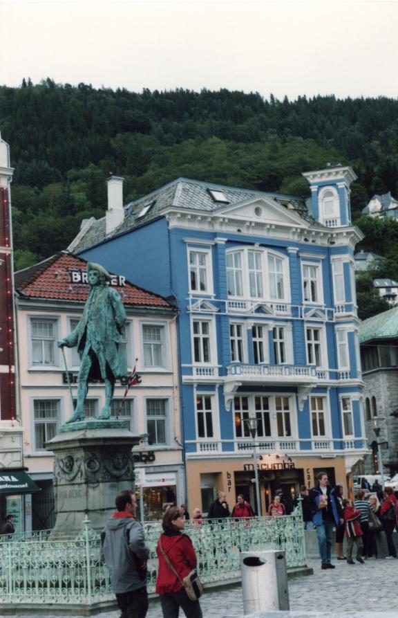Bergen, au hasard des rues