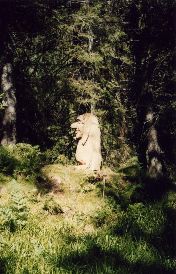 Bergen, un autre troll des bois plus sauvage