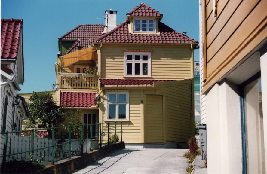 Bergen, maison typique
