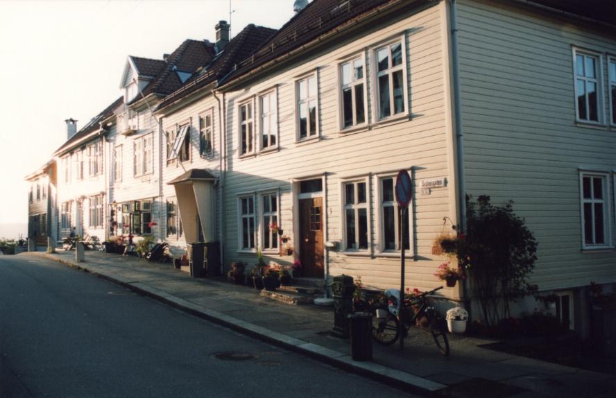 Bergen, sous le soleil