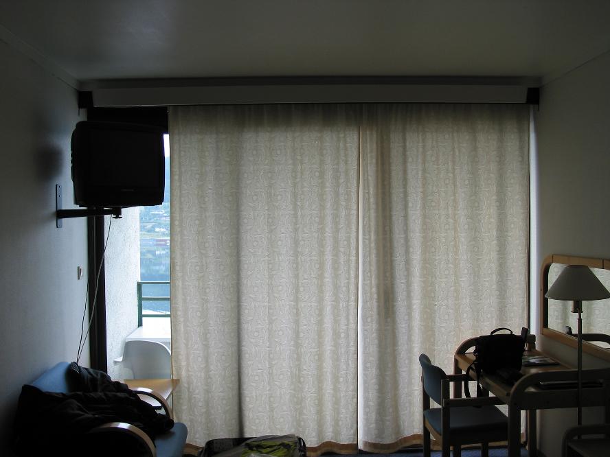 Ulvik, les rideaux