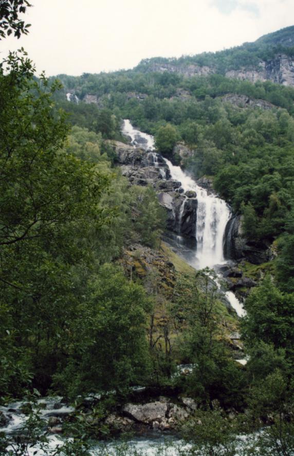 Une dernière cascade vers Galdane