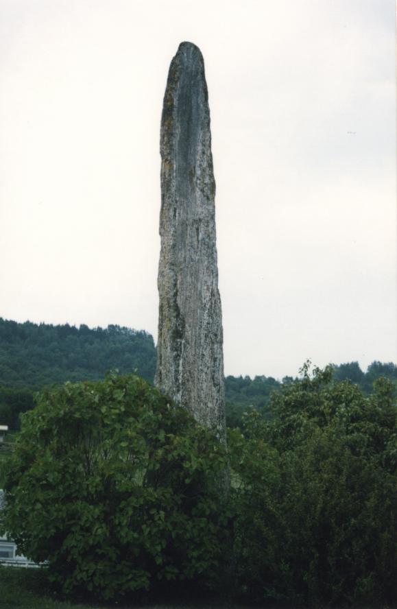Menhir de Leikanger, dédié à Balder