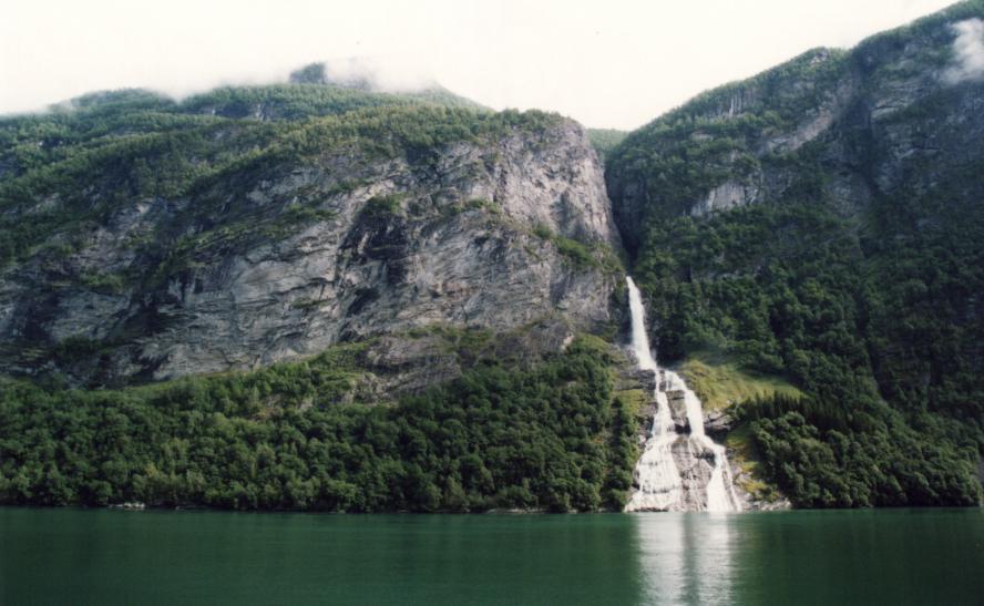 Geirangerfjorden, le prétendant