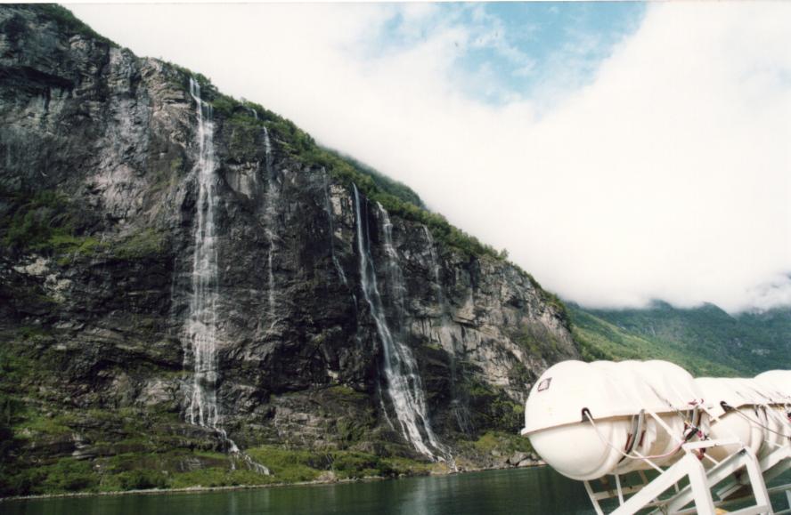 Geirangerfjorden, les 7 soeurs