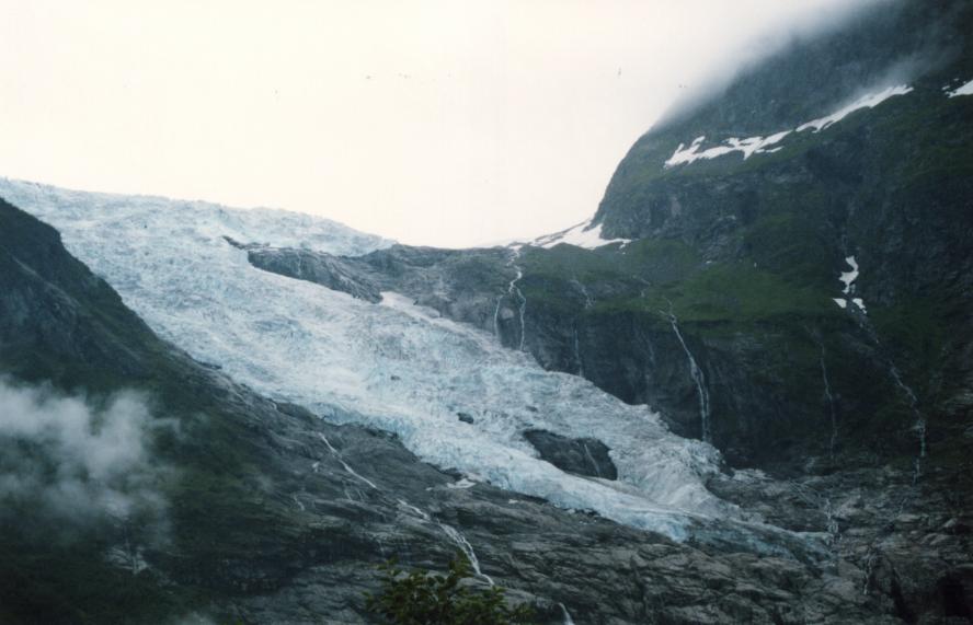 Glacier du Josteldalsbreen