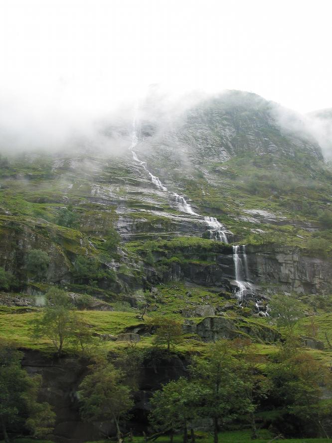La vallée humide