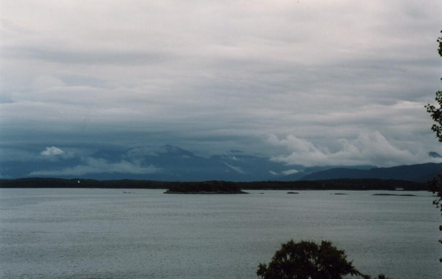 Panorama depuis le Varden, le retour