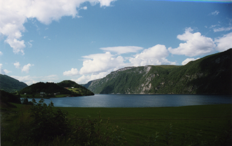 Sur la route vers Trondheim