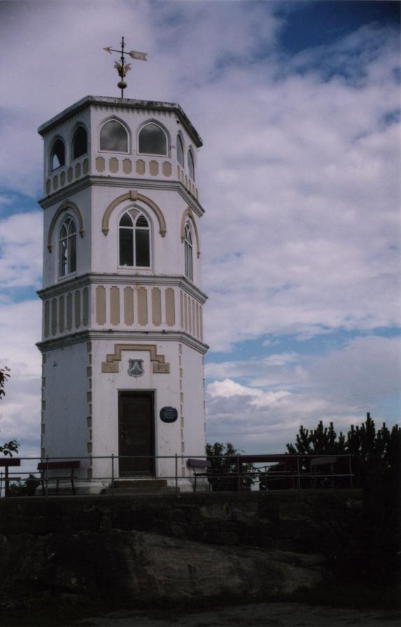 Kristiansund, une tour au sommet du Varden