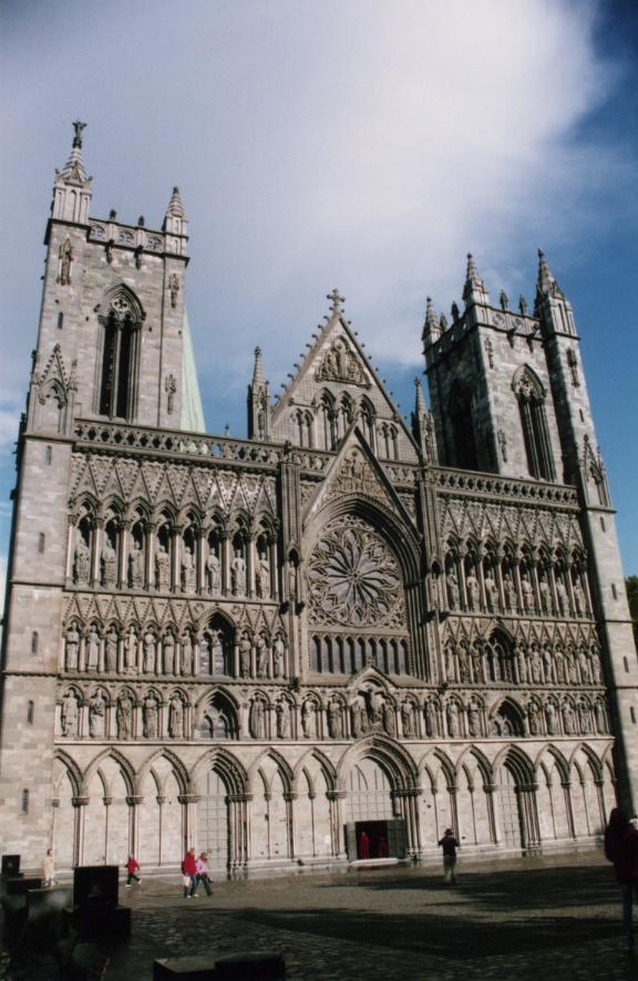 Trondheim, la cathédrale Nidaros