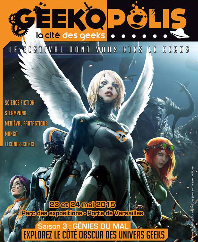 Festival Geekopolis 2015 : les génies du mal